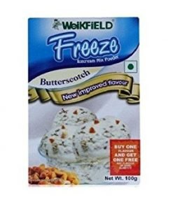 WEIKFIELD BUTTER SCOTCH ICE CREAM MIX POWDER 100 GM