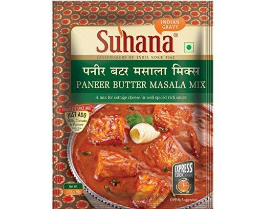 Suhana Paneer Butter Spice Mix 50g