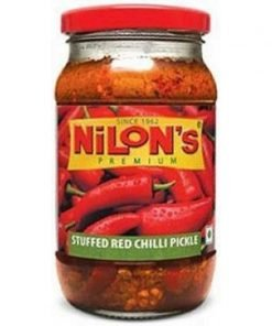 NILON'S-PREMIUM STUFFED RED CHILLI PICKLE-400 G