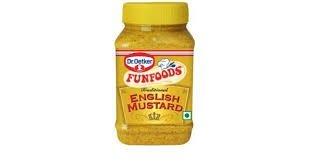 FUNFOODS-ENGLISH MUSTARD-300 GM